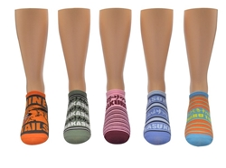 Picture of Naruto Shippuden Socks Names 5 Pair Pack Lowcut Socks