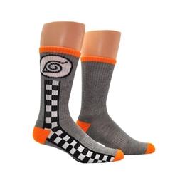 Picture of Naruto Shippuden Hidden Leaf Village Athletic Crew Socks