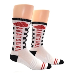 Picture of Naruto Shippuden Akatsuki Cloud Athletic Crew Socks