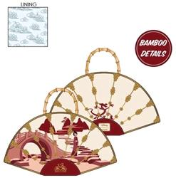 Picture of Mulan Bamboo Fan Handbag