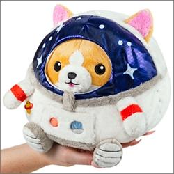 "Picture of Corgi in Astronaut Squishable 7"" Plush"
