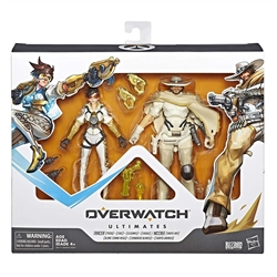"Picture of Overwatch Ultimate Series Tracer & McCree Fual Pack 6"" Collectible Action Figures"