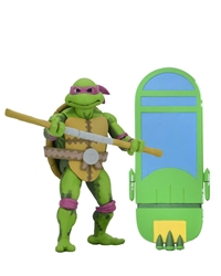 "Picture of Teenage Mutant Ninja Turtles Donatello Turtles in Time 7"" Action Figure"