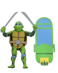 "Picture of Teenage Mutant Ninja Turtles Leonardo Turtles in Time 7"" Action Figure"