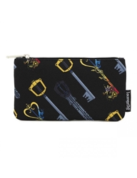 Picture of Kingdom Hearts Keys All Over Print Nylon Pouch