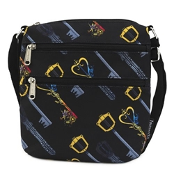 Picture of Kingdom Hearts Keys All Over Print Passport Purse