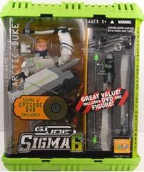 Picture of GI Joe Sigma 6 Arctic Duke Figure with Bonus DVD Set