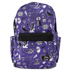Picture of Disney Villains Icons All Over Print Nylon Backpack