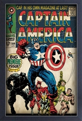 Picture of Captain America #100 Framed Print