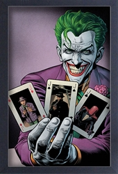 Picture of Joker Pick a Card Framed Print