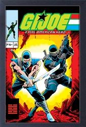 Picture of GI Joe Comic #46 Framed Print