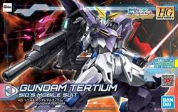 Picture of Gundam Build Divers Gundam Tertium HGBD Model Kit
