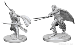 Picture of Dungeons and Dragons Nolzur's Marvellous Unpainted Elf Male Ranger Miniatures