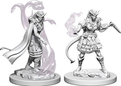 Picture of Dungeons and Dragons Nolzur's Marvelous Unpainted Tiefling Female Sorcerer Miniatures