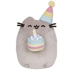 "Picture of Pusheen Birthday 9"" Plush"