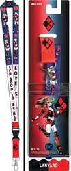 Picture of Harley Quinn Lanyard