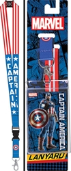 Picture of Captain America Lanyard