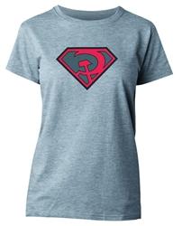 Picture of Superman Red Sun Symbol Women's Tee MEDIUM