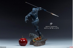 Picture of Black Panther Avengers Assemble Statue