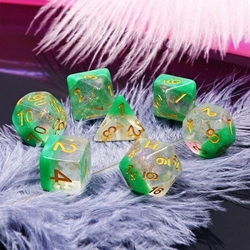 Picture of Spring Dew Layered Glitter Dice Set