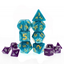 Picture of Blue Giant Pearl Dice Set