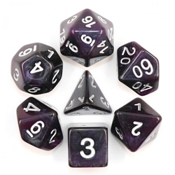 Picture of Amethyst Dice Set