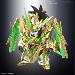 Picture of SD Gundam World Sangoku Soketsuden Long Zian Liu Bei Unicorn Gundam SDSS Model Kit