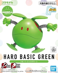 Picture of Gundam Haro Basic Green HaroPla Model Kit