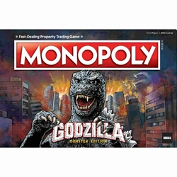 Picture of Godzilla Monopoly Board Game