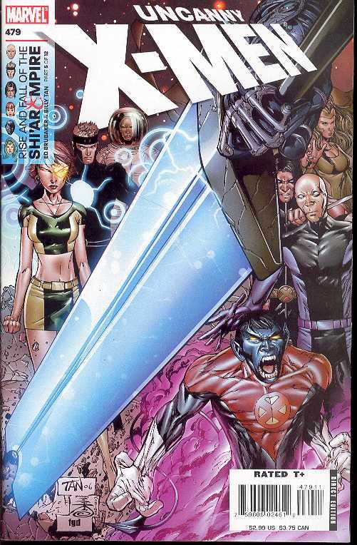 Uncanny X-Men #479 Comic Rise Fall Shi/'ar Empire Part 5 Marvel Comics VF