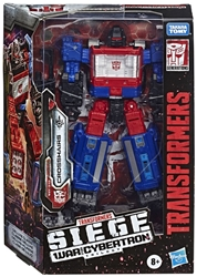 Picture of Transformers Siege War for Cybertron Trilogy Crosshairs Figure