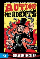 Picture of Action Presidents Vol 02 HC Abraham Lincoln