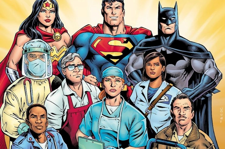 Honoring Essential Workers in Comics