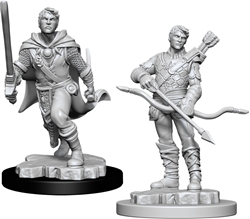 Picture of Dungeons and Dragons Nolzur's Marvelous Human Male Ranger Unpainted Miniatures