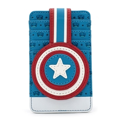 Picture of Marvel POP Captain America Debossed Shield Cardholder