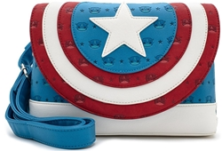 Picture of Marvel POP Captain America Debossed Shield Cross Body Bag
