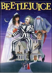 Picture of Beetlejuice Poster Magnet