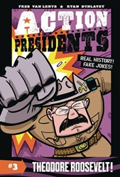 Picture of Action Presidents Vol 03 SC Theodore Roosevelt