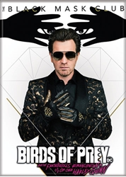 Picture of Birds of Prey Black Mask Club Magnet