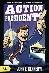 Picture of Action Presidents Vol 04 HC John F. Kennedy