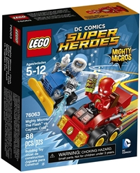 Picture of LEGO DC Comics Super Heroes Mighty Micros Flash vs. Captain Cold 93 Pcs