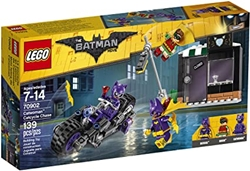 Picture of LEGO Batman Movie Catwoman Catcycle Chase with Batgirl, Robin and Catwoman 139 Pcs