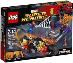 Picture of LEGO Marvel Super Heroes Spider-Man: Ghost Rider Team-Up 217 Pcs