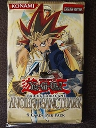 Picture of Yu-Gi-Oh! Ancinet Sanctuary Trading Card Game 9 Cards Per Pack English Edition
