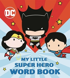 Picture of My Little Super Hero Word Book Board Book