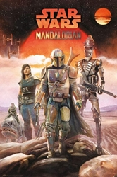 "Picture of Star Wars Mandalorian Crew 24"" x 36"" Poster"