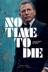 """Picture of James Bond No Time To Die 24"""" x 36"""" Poster"""