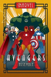 """Picture of Marvel Deco Avengers 24""""x36"""" Poster"""