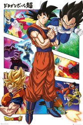 "Picture of Dragon Ball Z Super Panels 24"" x 36"" Poster"