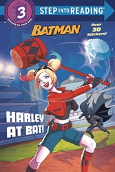 Picture of DC Super Heroes Batman Harley At Bat Level 3 Reading SC